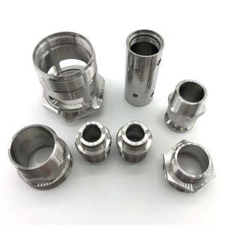 不锈钢管件管接头精密加工
